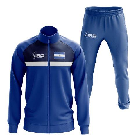 Nicaragua Concept Football Tracksuit (Blue)