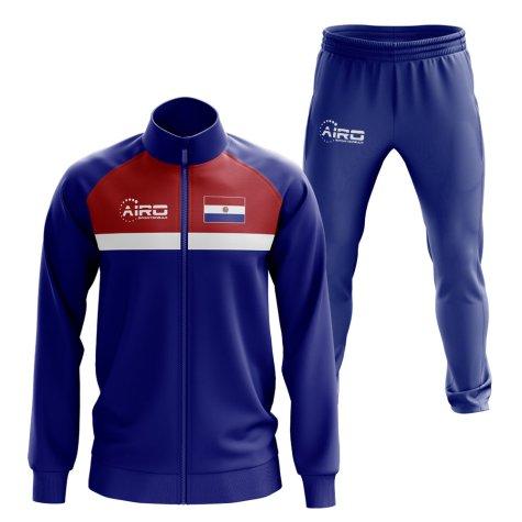 Paraguay Concept Football Tracksuit (Blue)