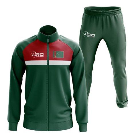 Turkmenistan Concept Football Tracksuit (Green)