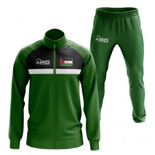 Western Sahara Concept Football Tracksuit (Green)