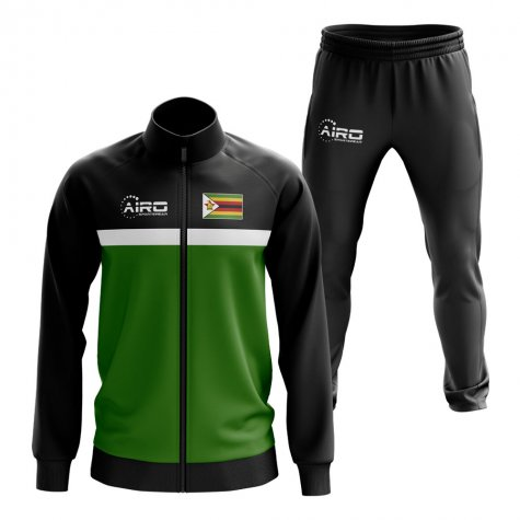 Zimbabwe Concept Football Tracksuit (Green)