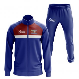 Swaziland Concept Football Tracksuit (Blue)