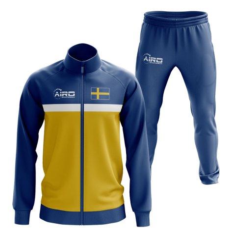 Sweden Concept Football Tracksuit (Blue)