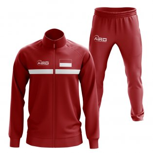 Indonesia Concept Football Tracksuit (Red)