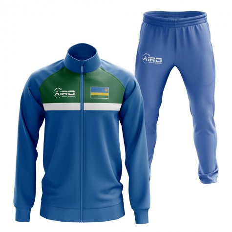Rwanda Concept Football Tracksuit (Blue)
