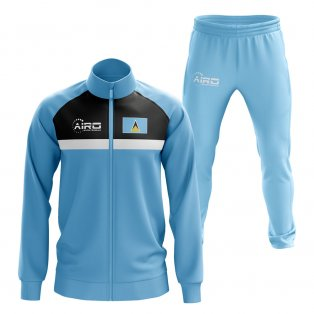 St Lucia Concept Football Tracksuit (Sky)