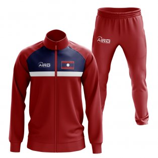 Laos Concept Football Tracksuit (Red)
