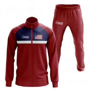Liberia Concept Football Tracksuit (Red)