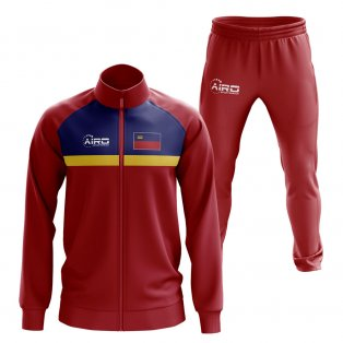 Liechtenstein Concept Football Tracksuit (Red)
