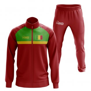 Mali Concept Football Tracksuit (Red)