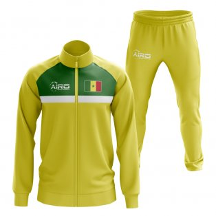 Senegal Concept Football Tracksuit (Yellow)
