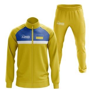 Ukraine Concept Football Tracksuit (Yellow)