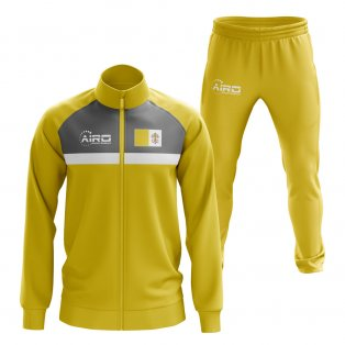Vatican Concept Football Tracksuit (Yellow)