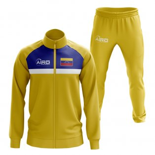 Venezuela Concept Football Tracksuit (Yellow)