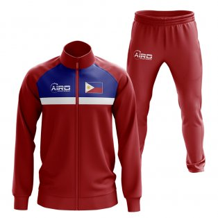 Philippines Concept Football Tracksuit (Red)