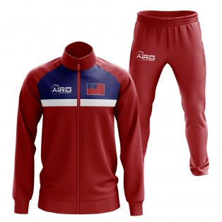Samoa Concept Football Tracksuit (Red)