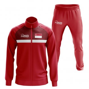 Singapore Concept Football Tracksuit (Red)
