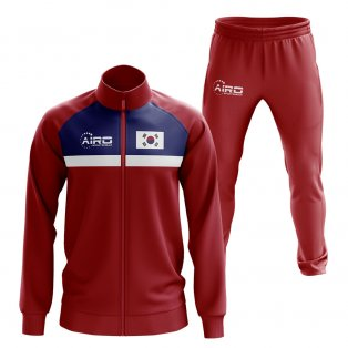 South Korea Concept Football Tracksuit (Red)