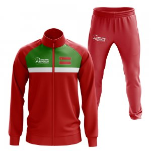 Trasnistria Concept Football Tracksuit (Red)