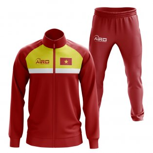Vietnam Concept Football Tracksuit (Red)