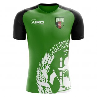 2020-2021 Afghanistan Away Concept Football Shirt
