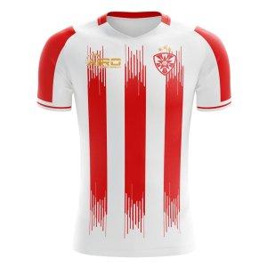 2020-2021 Fk Crvena zvezda Home Concept Football Shirt - Little Boys