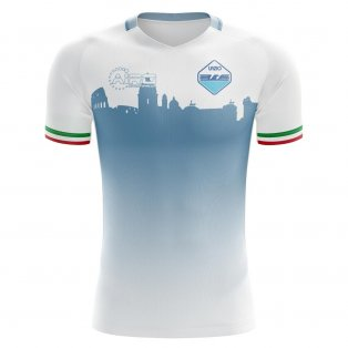 2020-2021 Lazio Home Concept Football Shirt - Womens