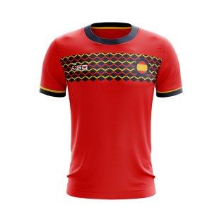 2020-2021 Spain Home Concept Football Shirt - Kids