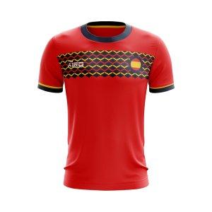 2020-2021 Spain Home Concept Football Shirt - Womens