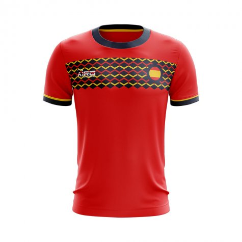 2020-2021 Spain Home Concept Football Shirt - Womens