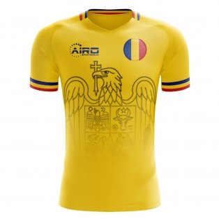2019-2020 Romania Home Concept Football Shirt