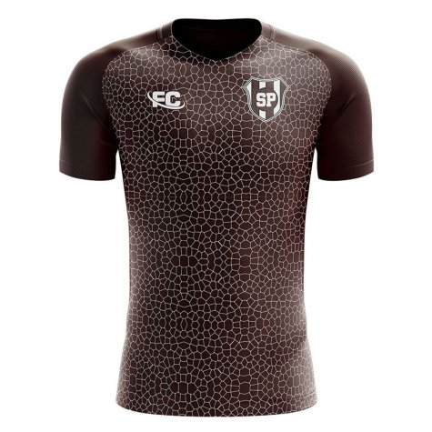 2019-2020 Saint Pauli Home Concept Football Shirt