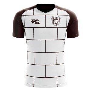 2019-2020 Saint Pauli Away Concept Football Shirt