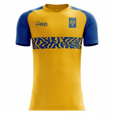 2020-2021 Tigres Home Concept Football Shirt - Little Boys