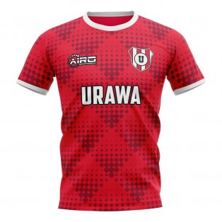 2019-2020 Urawa Red Diamonds Home Concept Football Shirt
