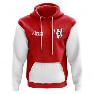 Girona Concept Club Football Hoody (Red)