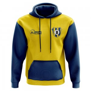 Brondby Concept Club Football Hoody (Yellow)