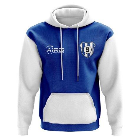 Sampdoria Concept Club Football Hoody (Blue)