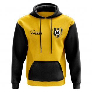 Watford Concept Club Football Hoody (Yellow)