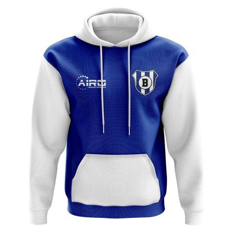 Brecia Concept Club Football Hoody (Blue)