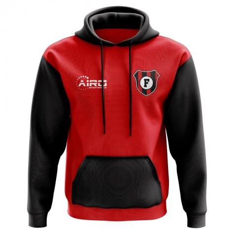 Flamengo Concept Club Football Hoody (Red)