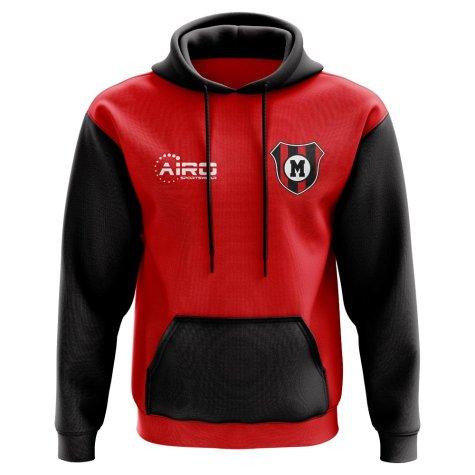 AC Milan Concept Club Football Hoody (Red)