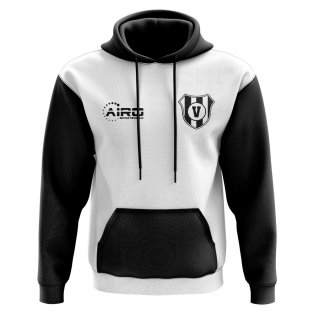 Valencia Concept Club Football Hoody (White)