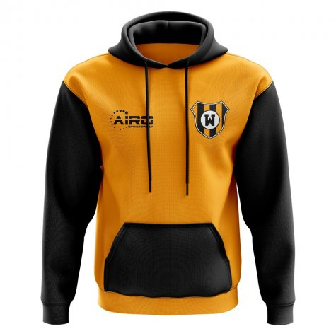 Wolves Concept Club Football Hoody (Orange)