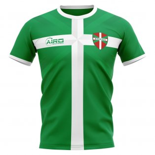 2019-2020 Basque Euskadi Home Concept Football Shirt