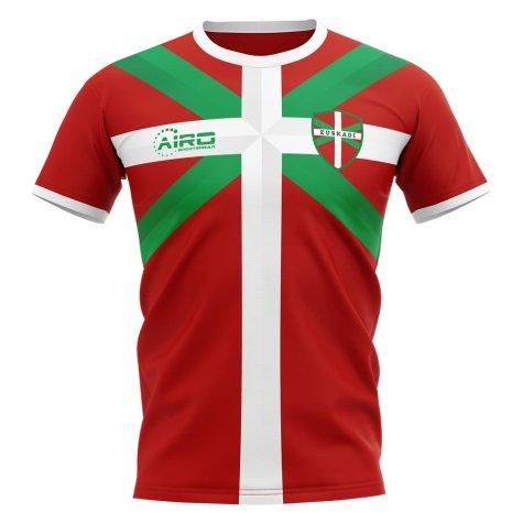 2020-2021 Basque Euskadi Away Concept Football Shirt
