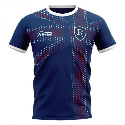 2020-2021 Glasgow Home Concept Football Shirt - Womens