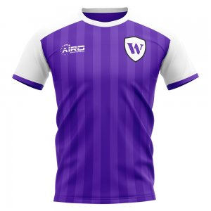 2019-2020 Austria Vienna Home Concept Football Shirt - Kids