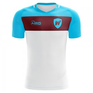 2020-2021 West Ham Away Concept Football Shirt - Kids
