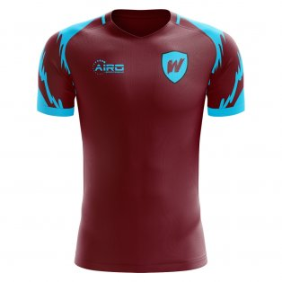 2020-2021 West Ham Home Concept Football Shirt